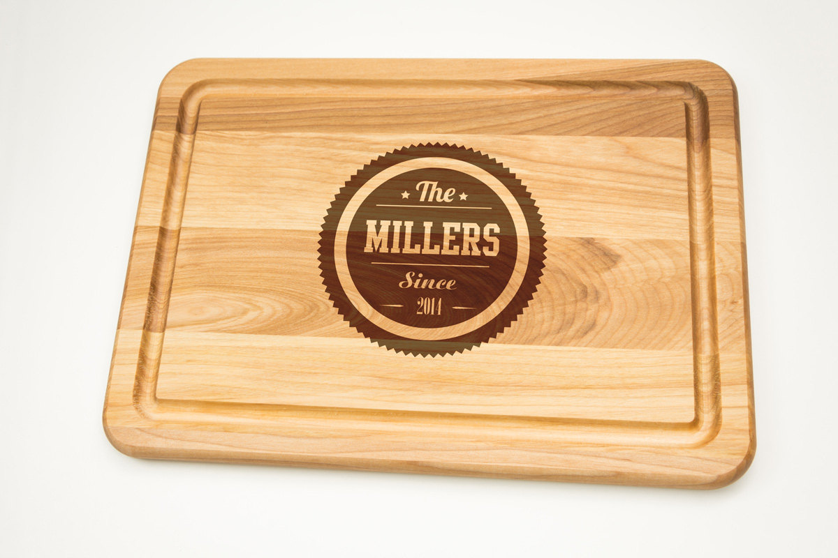Personalized Cutting Board Gift Engraved Gift For Wedding